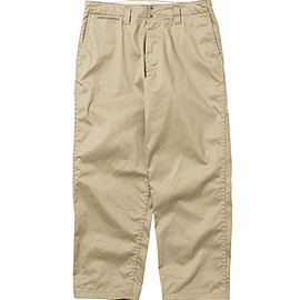 nanamica - Wind Wide Pants (Beige)