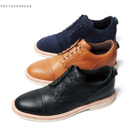 SOPHNET. - SPECTUSSHOECO. STRAIGHT TIP BLUCHER SHOES (DISC SYSTEM)