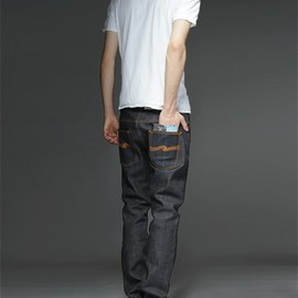nudie jeans - THIN FNN/ORG.DRY TWILL
