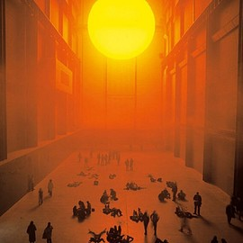 Olafur Eliasson - The weather project 2003, Turbine Hall at Tate Modern