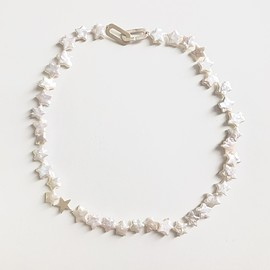talkative - milky way necklace