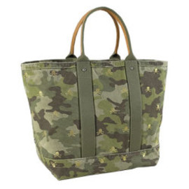 Canvas & Leather Weekender Bag