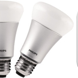 Philips - Hue white and color ambiance starter kit A19