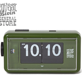 LANDSCAPE PRODUCTS - STUSSY Livin' GS Flip Clock by Twemco 2015