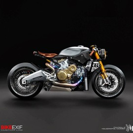 Ducati - 1199 cafe racer concepts (CG)