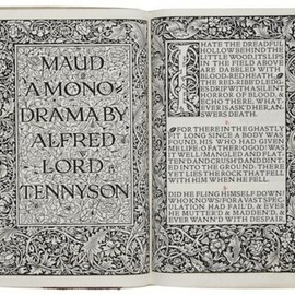 Alfred Lord Tennyson - Maud, a Monodrama  Limited 500 copies, Kelmscott Press, 1893