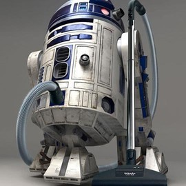 R2 D2 house cleaner