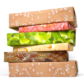 Gift Couture - Cheeseburger wrapping paper