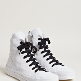 ANN DEMEULEMEESTER - Nubuck Scamosciato Sneakers