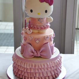 party! - Hello Kitty Cake