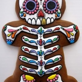 Awesome skeleton cookie :)
