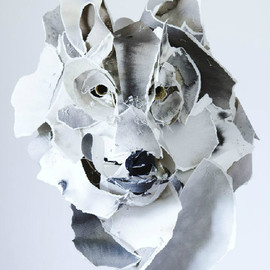 The paper sculptures