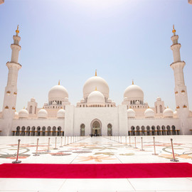 Abu Dhabi, United Arab Emirates - Sheikh Zayed Grand Mosque, 2007