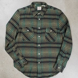 Levi's Vintage Clothing - Shorthorn Shirt Bottle Green / Rockers