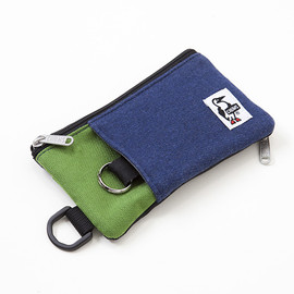 Chums - Mobile Card Case Sweat Nylon