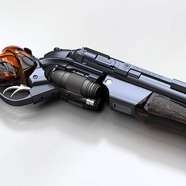 PKD Raptor: A Concept Gun Design for Gaff