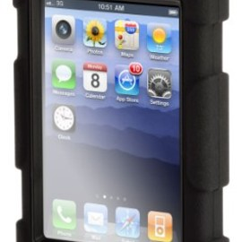 Griffin Technology - GRIFFIN Survivor Survivor + Beltclip for iPhone 4, Black GRF-SRVVR/BC-IP4-BK