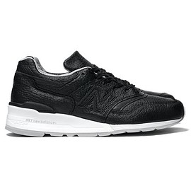 New Balance - M997BSO - Black/Gray