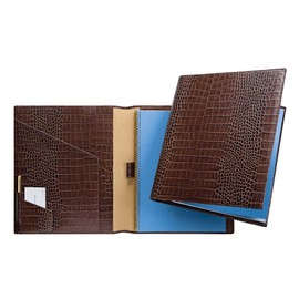 SMYTHSON - A4 Writing Folder, Brown Mara Collection