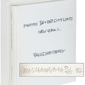 Robert Rauschenberg - Photos In + Out City Limits: New York C. (Signed Limited Edition)