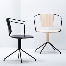 the Bouroullecs launch - Uncino chairs