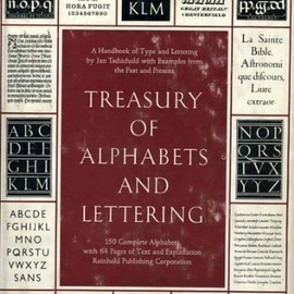 Jan Tschichold - Treasury of Alphabets and Lettering