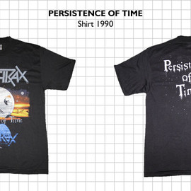 Anthrax - Persistence of Time  T-Shirt   1990