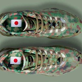 "NIKE - NIKE(ナイキ)/AIR MAX 95 JAPAN SP[PALE OLIVE/SAFARI] 634775-220 ""自衛隊""メンズ スニーカー fs3gm"