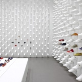 New Camper Store in New York by Nendo.