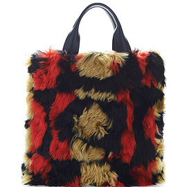 MARNI - Pre-Fall 2015 Alpaca Intarso Shopping Bag