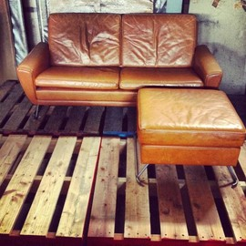 Special orders - Special orders★Vintage sofa + ottoman