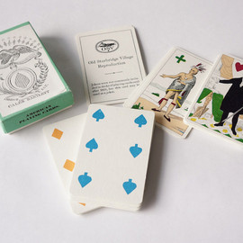 vintage playing cards / facsimile 1835-40 abbot & ely / usa