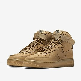NIKE - NIKE AIR FORCE 1 HIGH LV8 GS 【FLAX/WHEAT】 (ナイキ エア フォース 1 ハイ LV8 GS 【フラックス/ウィート】) 807617-200