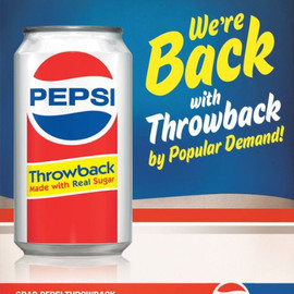 PEPSI - Throwback