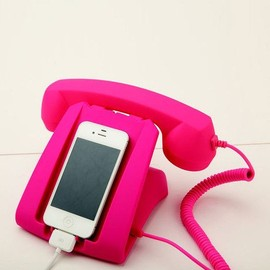 Pink Talk Dock for Smartphone