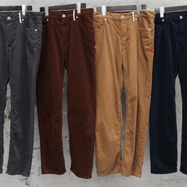 BEDWIN - tapered fit corduroy pants