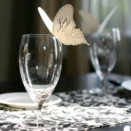 Timeless Paper - Butterfly Place Cards