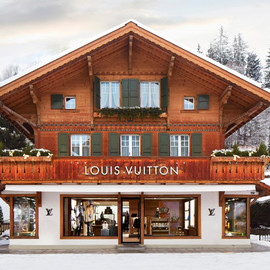 "LOUIS VUITTON - ""Winter Resort"" Store in Switzerland"