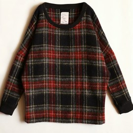 SHAREEF - TARTAN CHECK PULL-OVER