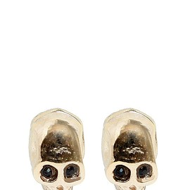 GIVENCHY - FW2015 SKULL MAGNETIC EARRINGS