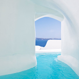 Santorini, Greece - Canaves Oia Hotel