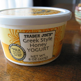 Trader Joe's - Greek Style Honey Yogurt