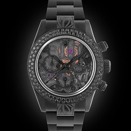 Rolex - Rolex Daytona Skeleton II Black Diamond