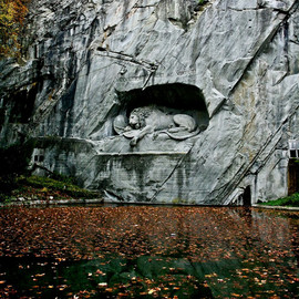 Switzerland - Lion Monument