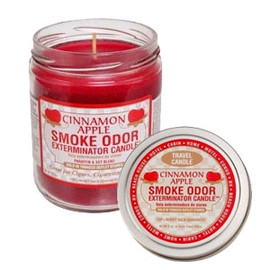 Tobacco Outlet Products - Cinnamon Apple Smoke Odor Exterminator Candle