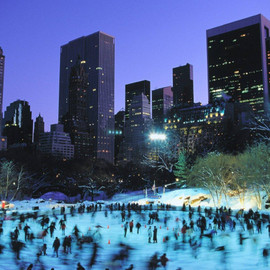 New York - Ice Skating in Central Park