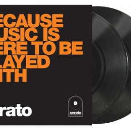 """SERATO PERFORMANCE SERIES, セラト - CONTROL VINYL [BECAUSE MUSIC IS HERE TO BE PLAYED WITH]""""10inch 2枚組"""""""