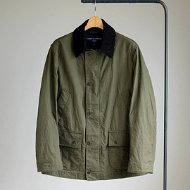 COMME des GARCONS HOMME - Cotton Wax Weather Cloth Field Jkt #khaki