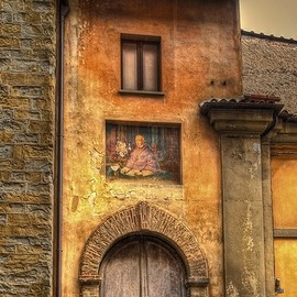 Citta di Castello, Italy - Ancient doorway