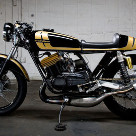 twinline motorcycles - The Goldhead  Yamaha RD350